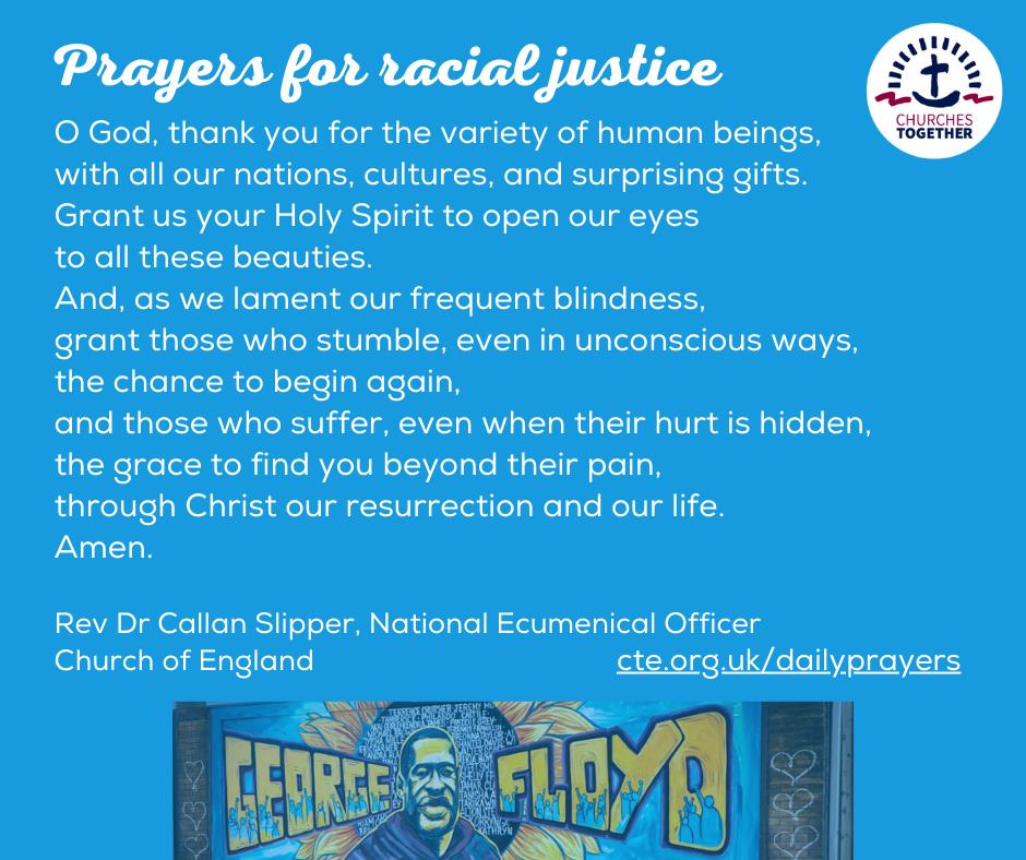 Dr Callan Slipper Racial justice prayer