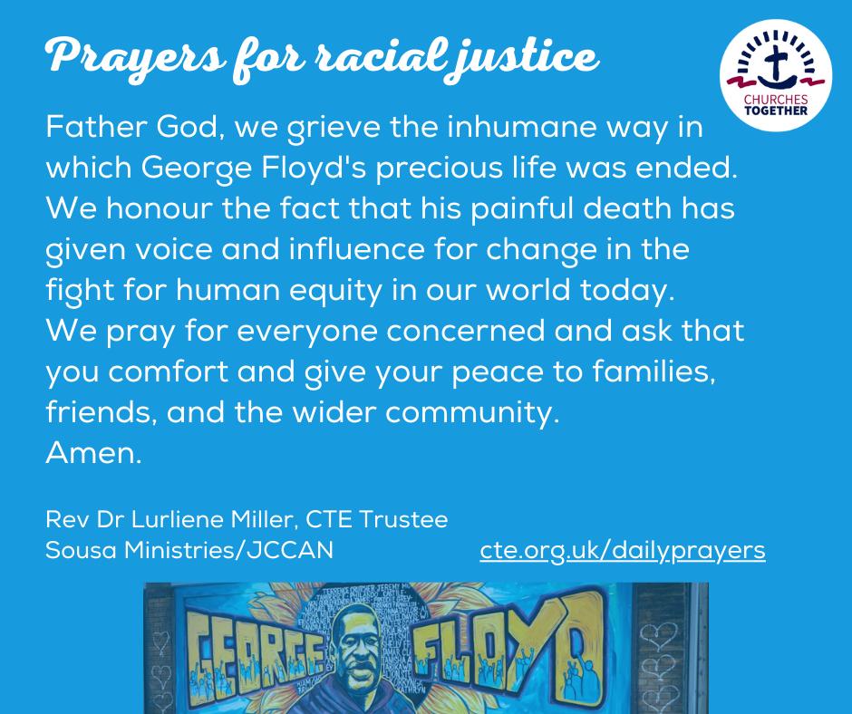 Dr Lurliene Miller Racial Justice Prayer